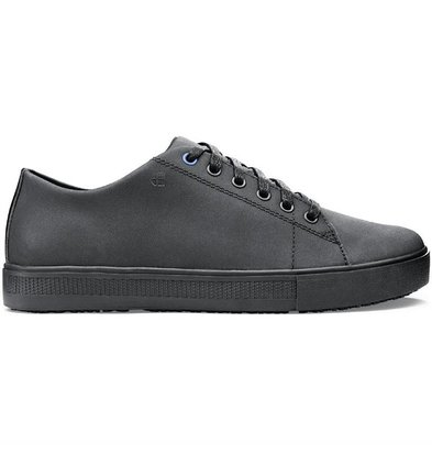 Shoes For Crews Shoes for Crews | Traditional Sporty Men's Work Shoes | Black Available in 7 sizes