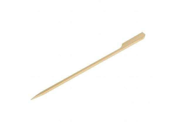 Fiesta Bamboeprikkers | Peddelvorm | 100 stuks | 15(l)cm