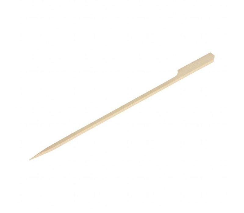 Fiesta Bamboeprikkers | Peddelvorm | 100 stuks | 18(l)cm
