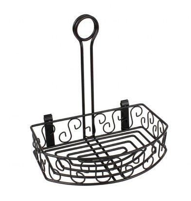 Olympia Specerijenhouder | Rechthoekig | Met menuklem | 21,5x15,5x(H)23cm