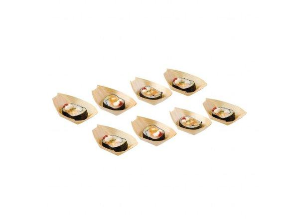 Fiesta Berkenhouten bootjes | 100 stuks | 8(l)cm