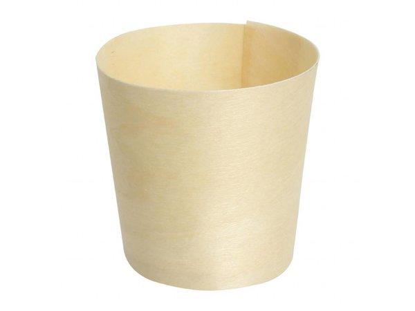 Fiesta Berkenhouten bekertjes | 100 stuks | Ø4x(H)4cm