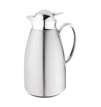 Olympia Isoleerkan | RVS en glas | 1 Liter | Ø14x(H)26cm