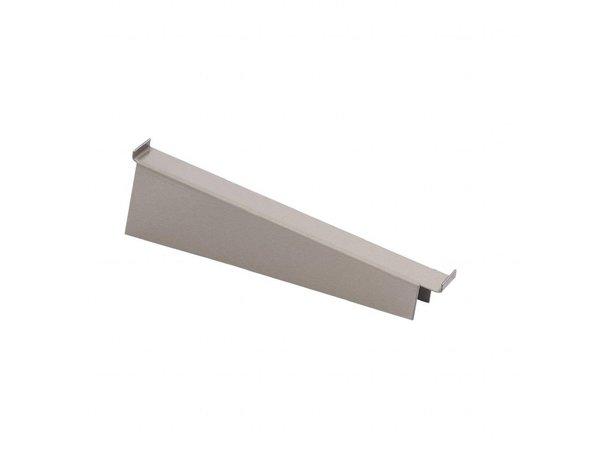 Wandplank 40 Cm.Gastro M Wandplank Drager Voor Ds446 T M Ds452 Rvs 40cm