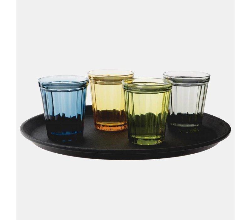 Olympia Glazen | Tumbler | 26cl | Per 6 stuks | Ø8,5x(H)10cm | Beschikbaar in 4 Kleuren
