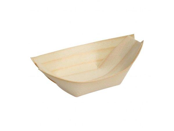 Fiesta Berkenhouten bootjes | 100 stuks | 25(l)cm