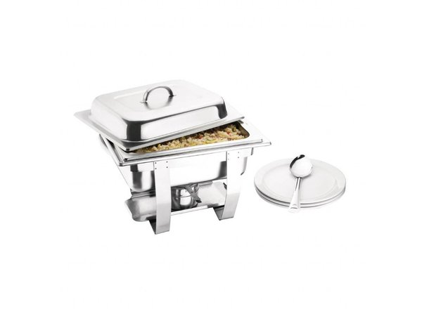 Olympia Chafing dish | GN 1/2 | 36,5x30x(H)30cm