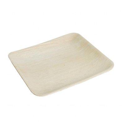 Fiesta Palmbladborden | Vierkant | 100 stuks |  25x25cm