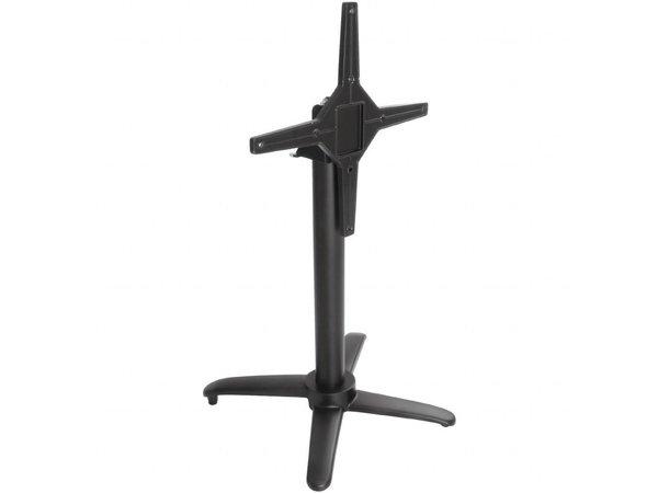 Bolero Aluminium statafelpoot | 480x720(H)mm