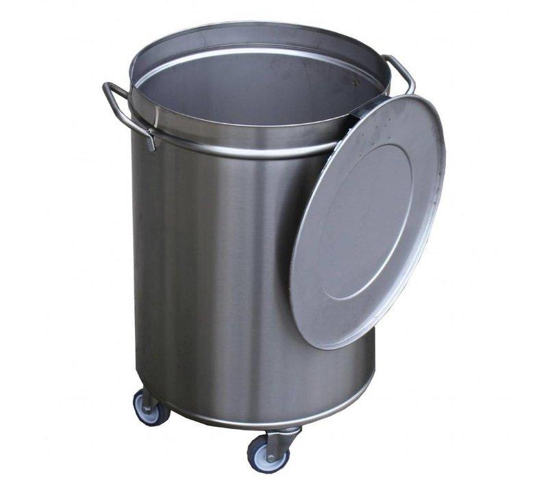 Gastro M Afvalemmer | 100 Liter | Op wielen