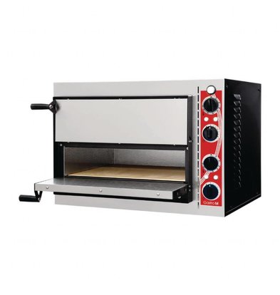 Gastro M Pizzaoven | Pisa | Met 2 kamers | 56,8x50x43(H)cm