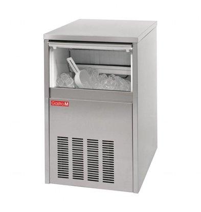 Gastro M Ijsblokjesmachine | 28kg/24u | RVS | 4,6x4x6,7(H)cm