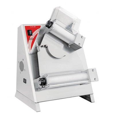 Gastro M Pizzadeegroller | 14-30cm | 230V | RVS | 65(H) x 40,5(b) x 47(d)cm