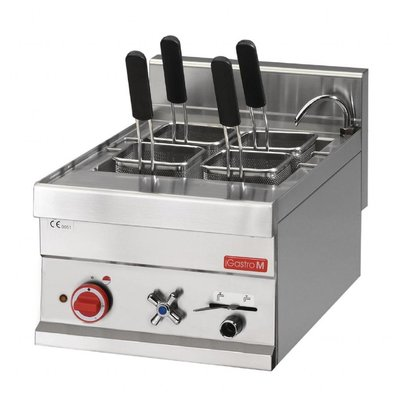 Gastro M Elektrische pasta koker | 4 Mandjes | 20 Liter | 6 kW | 40x60x(H)28cm