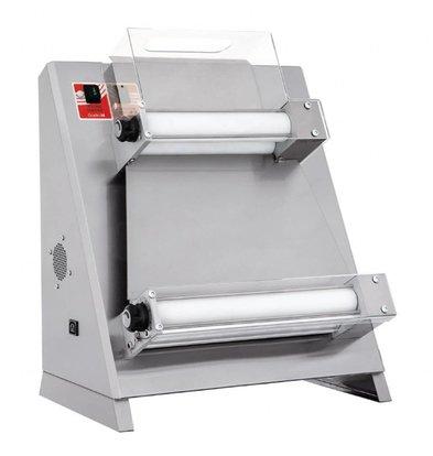 Gastro M Pizzadeegroller | 26-40cm | 230V | RVS | 82,5(H) x 54,5(b) x 66(d)cm