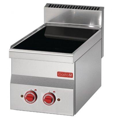 Gastro M Keramische kookplaat | 2 Kookzones | 3,6kW |  300x600x280mm
