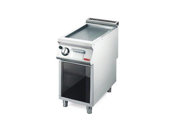 Gastro M Bakplaat | Gas | 6kW | GM70/40 FTGS | 40x70x(H)85cm
