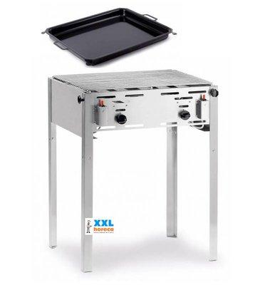 Hendi Hendi-Grill-Meister Grill Maxi | Fleisch Barbecue | Grill-Meister Maxi für Propan | Bestseller!