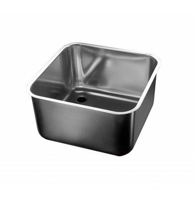 Combisteel sink | 600X500mm