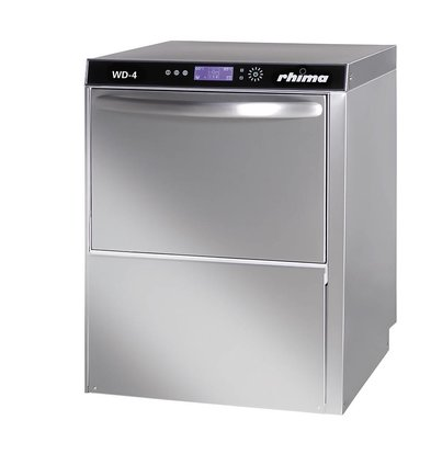 Rhima Dishwasher / Glasswasher + Drain pump 50x50cm | RHIMA WD-4 PLUS | 600x600x820mm