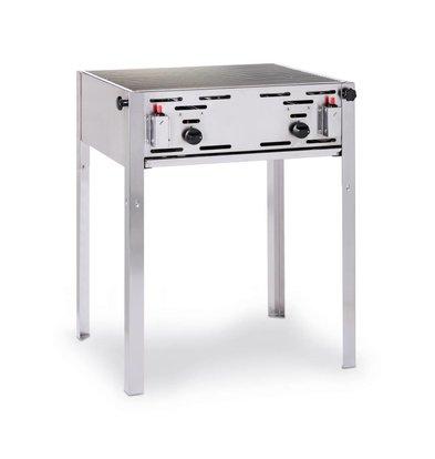 Hendi Roast Master Maxi BBQ | Meat BBQ + Grill Grate | Butane & Propane | 650x540x840 (h) mm