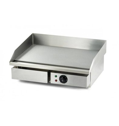 Combisteel Electric griddle - 55x47x (h) 23cm - 3kW