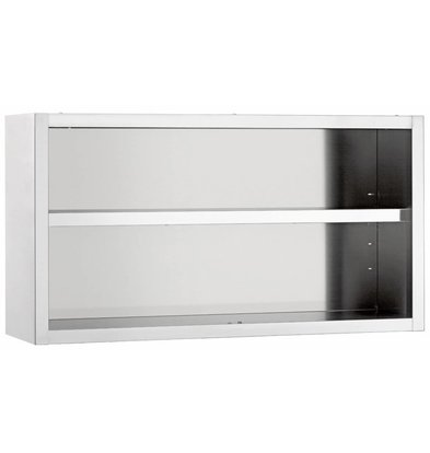 Diamond Wardrobe SS | Open Model | Between 1 Adjustable Shelf | 600x400x600 (h) mm | CHOICE OF 4 WIDTHS