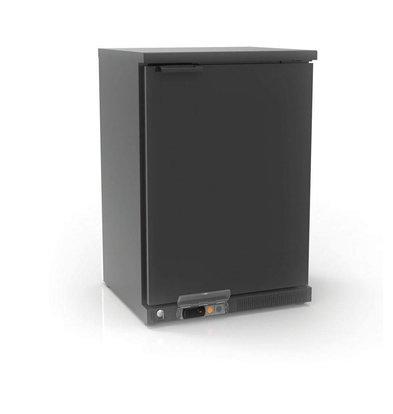 Coreco Barkoelkast Zwart | 2 Verstelbare Etages | 130 Liter | 62x52x(H)90cm