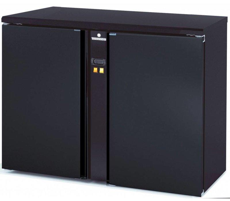 Coreco Backbar Barkoelkast | SBP-120 | 2 Deurs | Zonder Koelmachine | 146,5x53x(H)82cm