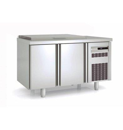 Coreco Saladette 2 Deurs | MFE-150 | Coreco | 134,5x70x(H)148,3cm