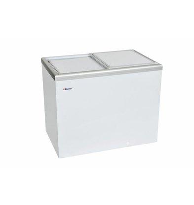 Elcold Vrieskist met Geïsoleerde Schuifdeksel | Elcold CAL 35 | 349 Liter | 105,4x65,4x(h)92 cm