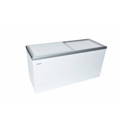 Elcold Vrieskist met Geïsoleerde Schuifdeksel | Elcold CAL 61 | 611 Liter | 170,4x65,4x(h)92 cm