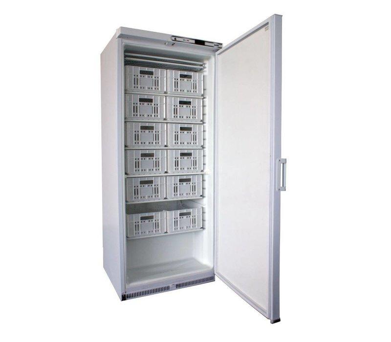 Framec Bedrijfsvrieskast | RVS | JUMBO XL 650 X N | Framec | Deur Omkeerbaar | 77,5x73x(H)186,5cm