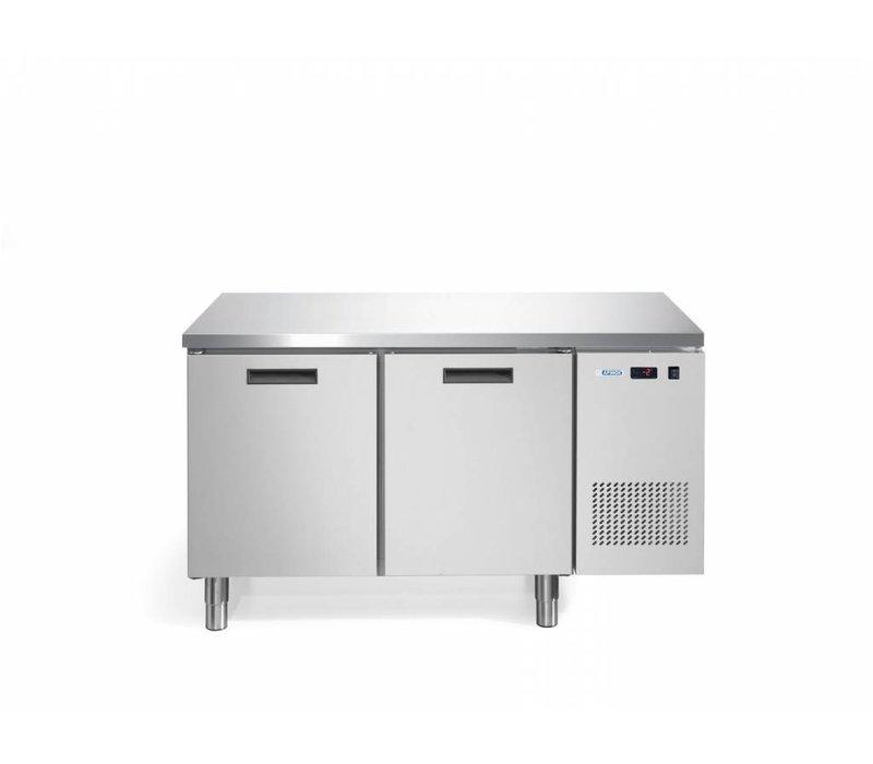 Afinox Koelwerkbank  | 2 Deurs | None Fingerprint | Afinox FRESH 2 TN I/A | 140x70x85cm