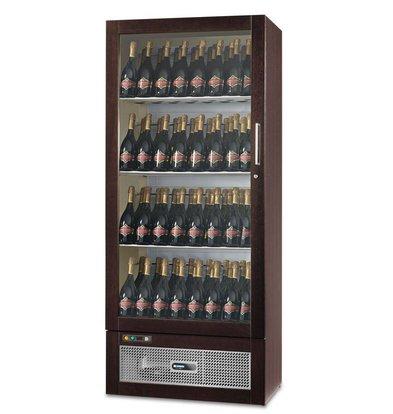 Afinox Wijnklimaatkast | WIJN TALENTO 830 | Wengé | Afinox | 83x55,1x(H)192,5cm