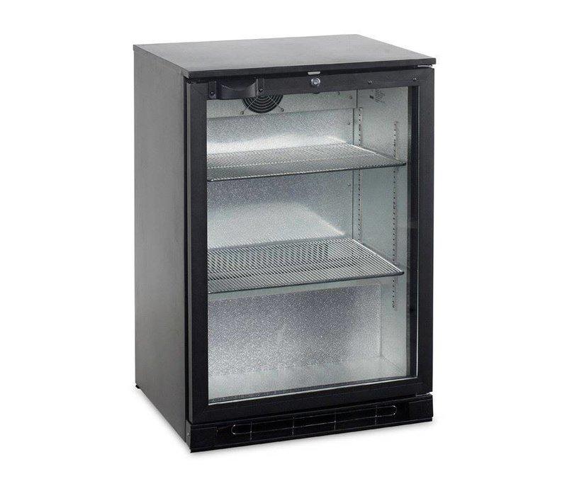 Esta Backbar Koelkast Zwart | Glazen Draaideur | BA15H R600a | Esta | 60x52x(H)87cm