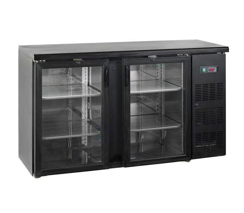 Esta Barkoelkast 2 Glazen Klapdeuren | CBC210G | Esta | 146,2x51,3x(H)86cm