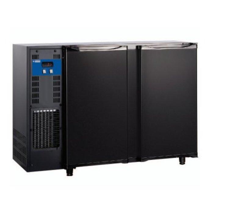 Diamond Bar Kühlschrank 2 Türen | 375 Liter 145,5x56,5x (H) 89 / 90,5 cm