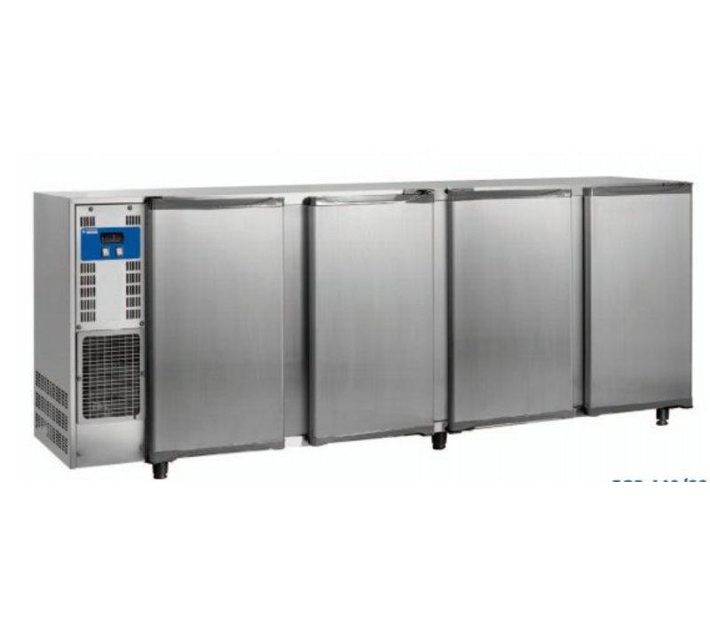 Diamond Bar Kühlschrank 4 Türen | Edelstahl | 783Liter | 267,5x56,5x (H) 89 / 90,5 cm