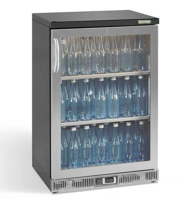 Gamko Flasche Chill-1-Tür (im Uhrzeigersinn)   Chrome Sprache   Gamko MG2 / 150RGCS   150L   602x536x900 / 910mm