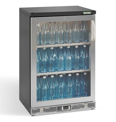 Gamko Flasche Chill-1-Tür (nach links)   Chrome Sprache   Gamko MG2 / 150LGCS   150L   602x536x900 / 910mm