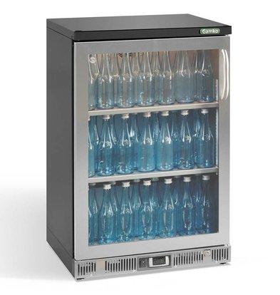 Gamko Flasche Chill-1-Tür (nach links)   Chrome Sprache   Gamko LG2 / 150LGCS84   140L   602x536x840 / 850mm