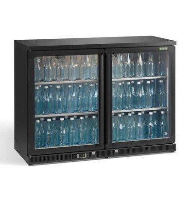 Gamko Flasche Chill-2 Pendeltüren   anthrazit   Gamko MG2 / 275g   275l   1200x536x900 / 910mm