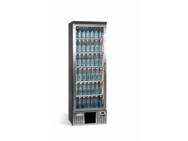 Gamko Flasche Chill-1-Tür (nach links) | Chrome Sprache | Gamko MG2 / 300LGCS | 300L | 602x530x1800 / 1825mm