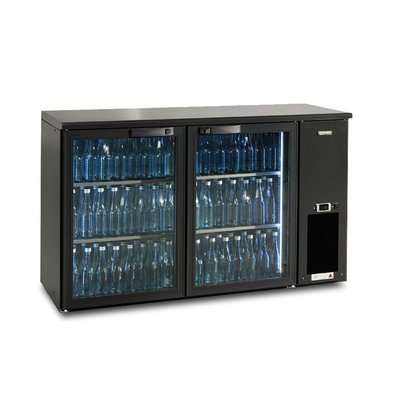 Gamko Bottle Chill 2-Door | anthracite | Gamko E3 / 22GMU | 364 L | ECO-Line | 1434x492x860 / 880mm