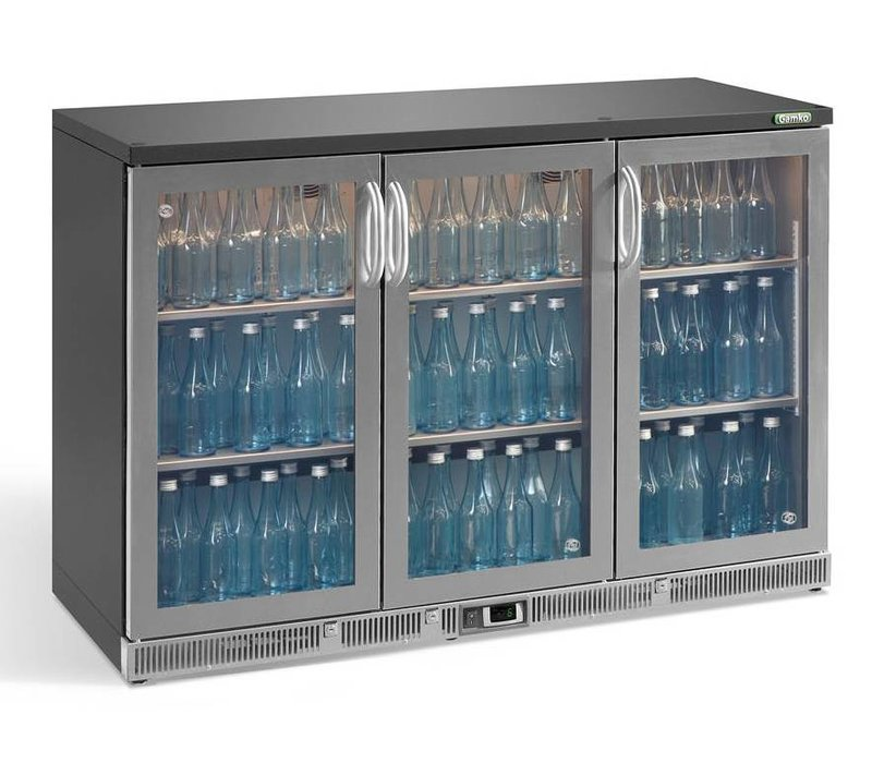 Gamko Flasche Chill-3 Pendeltüren | Chrome Sprache | Gamko MG2 / 315GCS | 315L | 1350x536x900 / 910mm
