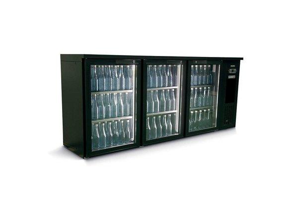 Gamko Flasche Chill-3-Türer | anthrazit | Gamko E3 / 222GMU | 537 L | ECO-Line | 1988x492x860 / 880mm
