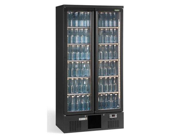 Gamko Flaschen Kühlen 2 Türen | anthrazit | Gamko MG2 / 500SD | 500L | 900x575x1800 / 1825mm