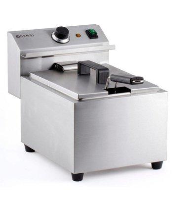 Hendi Friteuse MasterCook | 8 Liter | 3,5kW | 455x300x(H)345mm