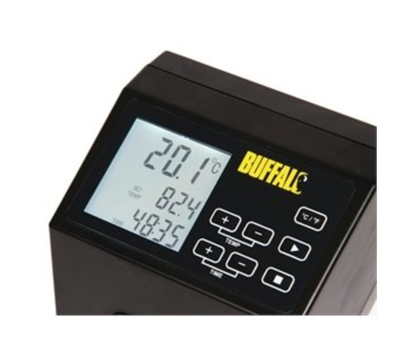Buffalo Mobiele Sous Vide - Elektrisch - RVS - 1500W - 145x130x(H)320 mm